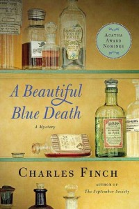 A Beautiful Blue Death (Charles Lenox Mysteries) by Charles Finch