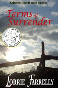 Bargain eBook Hunter: We Hunt for FREE & Bargain eBooks So You Don't Have To! -- A HotZippy Website: Today's Readers for Tomorrow's Bestsellers! © -- Bargain eBook Hunter proudly presents: Terms of Surrender by Lorrie Farrelly!