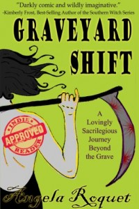 Bargain eBook Hunter: We Hunt for FREE & Bargain eBooks So You Don't Have To! -- A HotZippy Website: Today's Readers for Tomorrow's Bestsellers! © -- Bargain eBook Hunter proudly presents: Graveyard Shift (Lana Harvey, Reapers Inc.) by Angela Roquet!