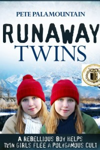 Bargain eBook Hunter: We Hunt for FREE & Bargain eBooks So You Don't Have To! -- A HotZippy Website: Today's Readers for Tomorrow's Bestsellers! © -- Bargain eBook Hunter proudly presents: RUNAWAY TWINS (Runaway Twins series #1) by Pete Palamountain!