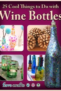 Bargain eBook Hunter: We Hunt for FREE & Bargain eBooks So You Don't Have To! -- A HotZippy Website: Today's Readers for Tomorrow's Bestsellers! © -- Bargain eBook Hunter proudly presents: 25 Cool Things to Do with Wine Bottles by Julia Litz!