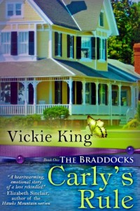 Bargain eBook Hunter: We Hunt for FREE & Bargain eBooks So You Don't Have To! -- A HotZippy Website: Today's Readers for Tomorrow's Bestsellers! © -- Bargain eBook Hunter proudly presents: Carly's Rule: 1 (The Braddocks) by Vickie King!