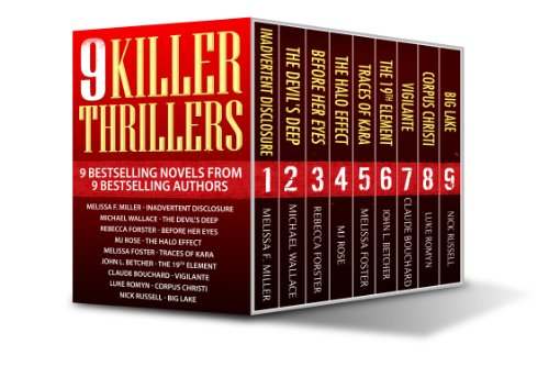 Bargain eBook Hunter: We Hunt for FREE & Bargain eBooks So You Don't Have To! -- A HotZippy Website: Today's Readers for Tomorrow's Bestsellers! © -- Bargain eBook Hunter proudly presents: 9 Killer Thrillers - 9 complete thriller novels by Melissa F. Miller!