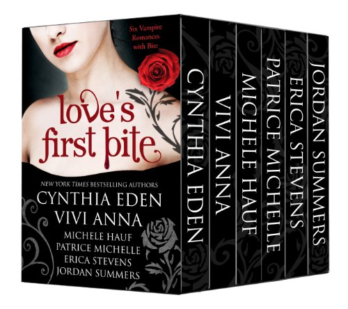 Bargain eBook Hunter: We Hunt for FREE & Bargain eBooks So You Don't Have To! -- A HotZippy Website: Today's Readers for Tomorrow's Bestsellers! © -- Bargain eBook Hunter proudly presents: Love's First Bite Boxed Set (6 vampire romances) by Cynthia Eden et. al.!
