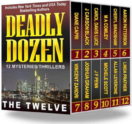 Bargain eBook Hunter: We Hunt for FREE & Bargain eBooks So You Don't Have To! -- A HotZippy Website: Today's Readers for Tomorrow's Bestsellers! © -- Bargain eBook Hunter proudly presents: Deadly Dozen: 12 Mysteries/Thrillers by Diane Capri!