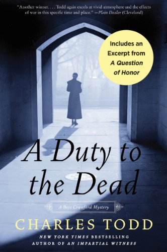 Bargain eBook Hunter: We Hunt for Free & Bargain eBooks So You Don't Have To! -- A HotZippy Website: Today's Readers for Tomorrow's Bestsellers! © -- Bargain eBook Hunter proudly presents: A Duty to the Dead (Bess Crawford Mysteries) by Charles Todd!