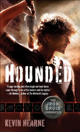 Bargain eBook Hunter: We Hunt for Free & Bargain eBooks So You Don't Have To! -- A HotZippy Website: Today's Readers for Tomorrow's Bestsellers! © -- Bargain eBook Hunter proudly presents: Hounded (with two bonus short stories): The Iron Druid Chronicles, Book One by Kevin Hearne!
