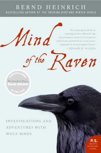 Bargain eBook Hunter: We Hunt for Free & Bargain eBooks So You Don't Have To! -- A HotZippy Website: Today's Readers for Tomorrow's Bestsellers! © -- Bargain eBook Hunter proudly presents: Mind of the Raven by Bernd Heinrich!