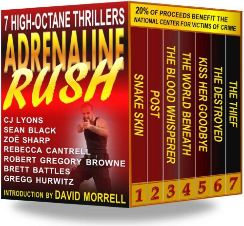 Bargain eBook Hunter: We Hunt for Free & Bargain eBooks So You Don't Have To! -- A HotZippy Website: Today's Readers for Tomorrow's Bestsellers! © -- Bargain eBook Hunter proudly presents: Adrenaline Rush: 7 High-Octane Thrillers by CJ Lyons!
