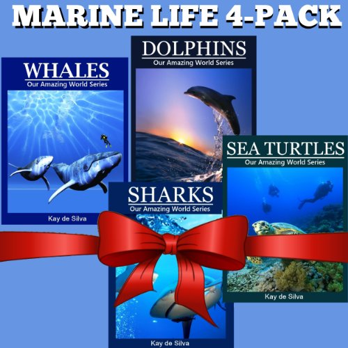 Bargain eBook Hunter: We Hunt for Free & Bargain eBooks So You Don't Have To! -- A HotZippy Website: Today's Readers for Tomorrow's Bestsellers! © -- Bargain eBook Hunter proudly presents: Marine Life 4-Pack: Amazing Pictures & Fun Facts on Animals in Nature (Our Amazing World Series) by Kay de Silva!