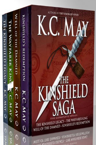 Bargain eBook Hunter: We Hunt for Free & Bargain eBooks So You Don't Have To! -- A HotZippy Website: Today's Readers for Tomorrow's Bestsellers! © -- Bargain eBook Hunter proudly presents: The Kinshield Saga: The Complete Series by K.C. May!
