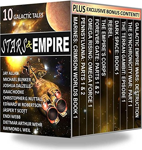 Stars & Empire: 10 Galactic Tales by Various Authors