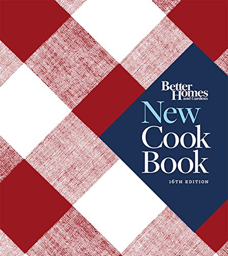 Better Homes and Gardens New Cook Book, Sixteenth Edition (Better Homes and Gardens Plaid) by Better Homes & Gardens