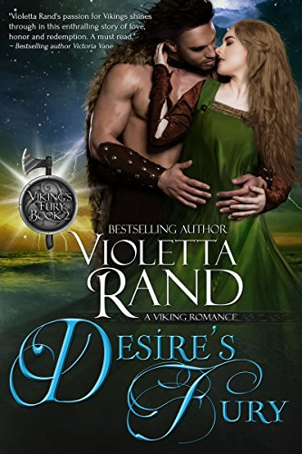 Desire's Fury (Viking's Fury Book 2) by Violetta Rand