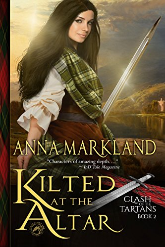 Kilted at the Altar by Anna Markland