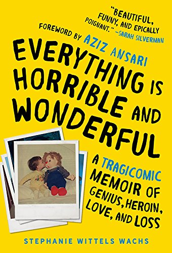 Everything Is Horrible and Wonderful: A Tragicomic Memoir of Genius, Heroin, Love, and Loss by Stephanie Wittels Wachs