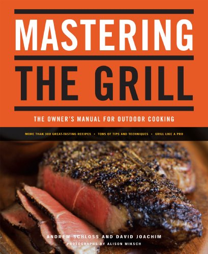 Mastering the Grill: The Owner's Manual for Outdoor Cooking by Andrew Schloss