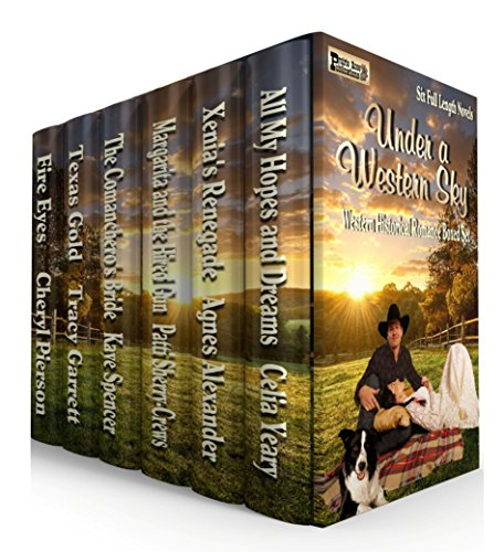 Under a Western Sky: Western Historical Romance boxed set of six full-length novels by Various Authors